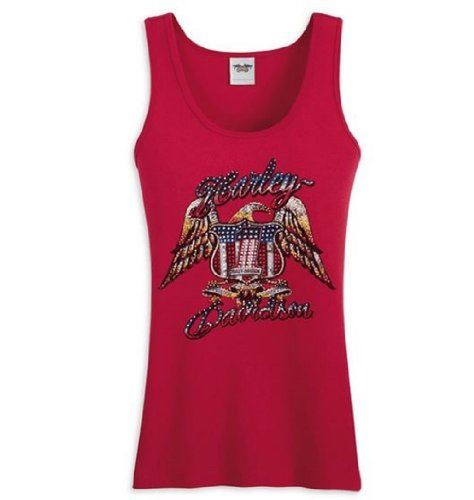 Harley-Davidson® Women's Tank Top T-Shirt Tee-LIMITED EDITION. Embellished Graphics. 98043-12VW