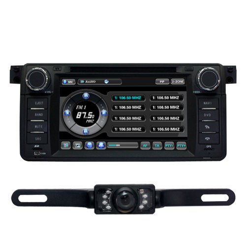 For BMW E46 (1998-2006) CAR DVD Player GPS Navi Radio Ipod Rear Camera Bluetooth (Free Map) CD8952R