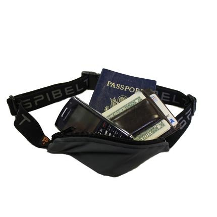 SPIbelt Spibelt Travel Money Belt- Black