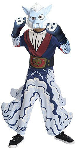 Childs Boy's Spyro Skylanders Swap Force Night Shift Costume Small 4-6