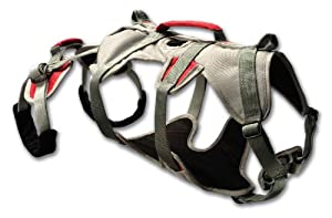 Ruffwear DoubleBack Harness, Medium, Graphite Gray