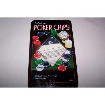 Coffret poker 100 jetons