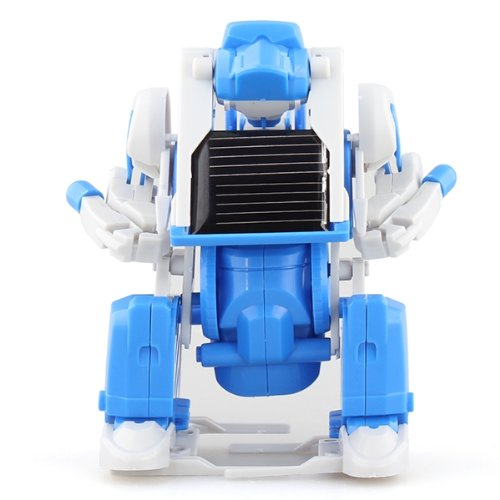 fitTek® Solar Roboter Spielzeug Modellbausatz Baukasten Experimentierkasten Plastik