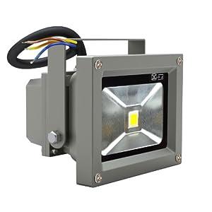 Lot de 5 projecteurs extérieur led 10 Watts IP 65 spot d'eclairage super lumineux