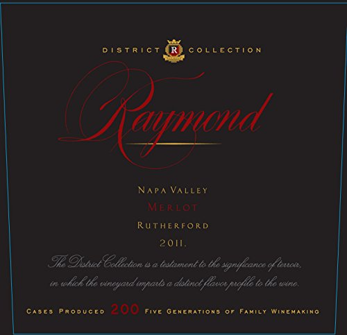 2011 District Selection Rutherford Merlot