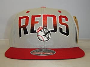 MLB Cincinnati Reds Arch Custom Retro Snapback Cap Old School by American Needle