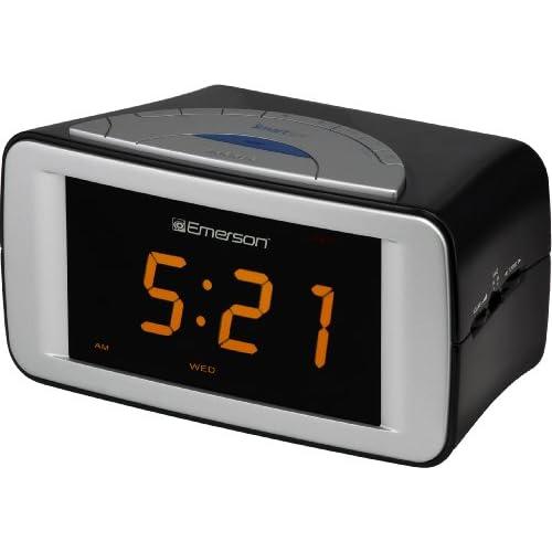Emerson CKS9051 SmartSet Dual Alarm Clock Radio Electronics