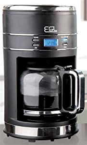 EGL Filter Coffee Maker - Black: Amazon.co.uk: Kitchen & Home