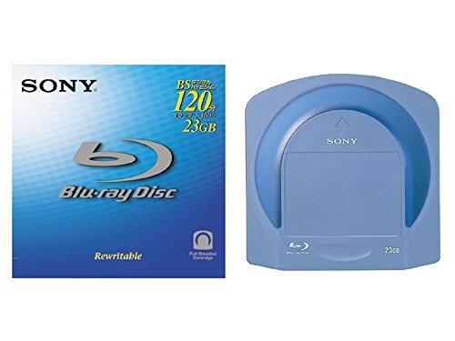 Sony BD-R 23GB 録画用 カートリッジタイプ 追記型 1枚パック BF23G
