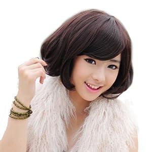 Fashion BOB Curly Kanekalon Hair Wig (Model: Jf010286) (Dark Brown)
