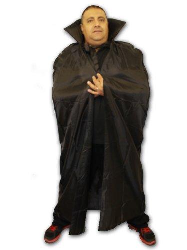 LUNGA MANTELLO IN 142,24 cm CON VAMPIRO COSTUME DI HALLOWEEN ACCESSORY SU TUTTA LA LUNGHEZZA MANTELLO VAMPIRO STREGA WIZARD SUPEREROE