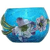 ARC EN CIEL Decorative & Lighting Table Diyas/Candle For Diwali - Light Blue