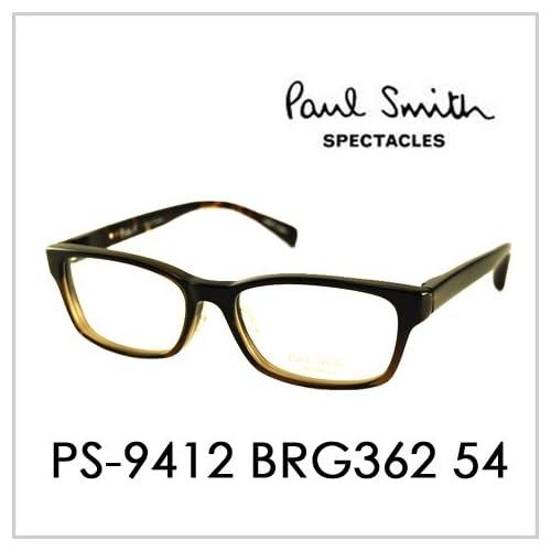 PAUL SMITH ポールスミス  メガネフレーム サングラス 伊達メガネ 眼鏡 PS-9412 BRG362 54 PAUL SMITH専用ケース付 スペクタクルズ