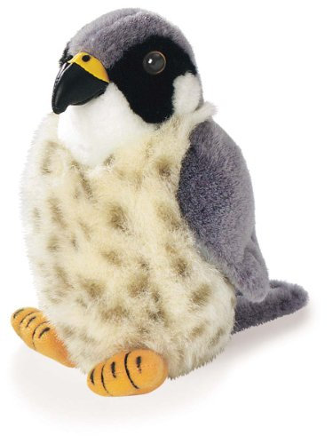 Peregrine Falcon - Audubon Plush Bird (Authentic Bird Sound)
