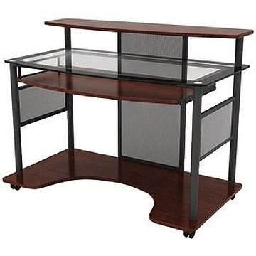 Buy Low Price Comfortable Z-Line Designs Cyrus Contemporary Computer Desk (Cherry) ZL2200-01WSU (B0051WGBDC)