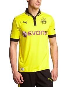 PUMA Herren Trikot  BVB Home Replica, blazing yellow-black, XL, 741410 01