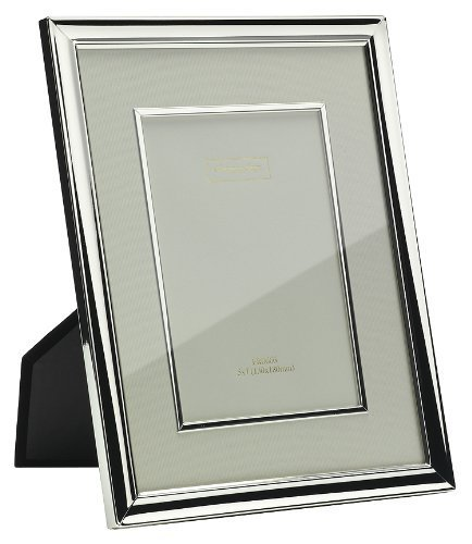 addison-ross-contemporary-photo-frame-4x6-silver-plate-with-cream-mount-and-bezel-4-x-6-inches-by-ad