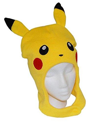 Pokemon-Pikachu-Knit-Peruvian-Beanie-Hat