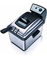 Philips HD6163/00 Friteuse Metal 1kg Cuve amovible