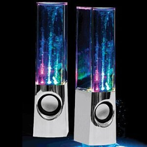 Plug And Play Muti-Colored Illuminated Dancing Water Speakers