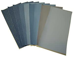 Micro Mesh Polishing Kit / MicroMesh Finishing Sanding Set / Cloth Backed Flexible Durable Abrasive Sandpaper Sand Paper