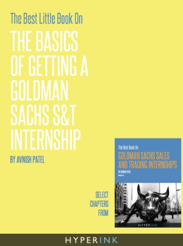 goldman-sachs-st-internships-the-basics-every-applicant-should-know-english-edition