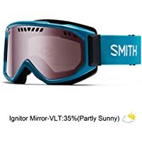 Smith Optics Scope Snow Men's Goggles (Pacific/Ignitor Mirror)