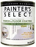 True Value USGF5-QT Painter's Select Medium Gray Pastel Base Interior/Exterior Urethane Fortified Porch and Floor Coating, 1-Quart
