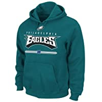 Philadelphia Eagles Critical Victory VI Majestic Green Hooded Sweatshirt by Majestic