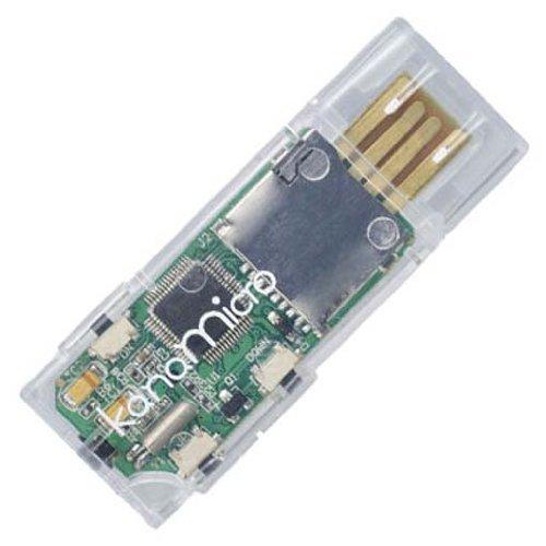 GREEN HOUSE microSD対応カンタン手軽デジタルオーディオ Kana micro クリア GH-KANAMR-C