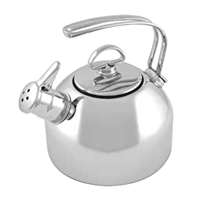 Chantal Stainless Steel Classic Teakettle, 1.8 Quart