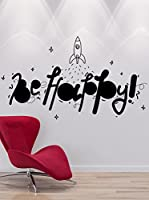 Wall Impact Pegatina Be Happy