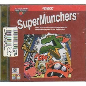 SuperMunchers CD-ROM for Mac or PC (1996) Trivia