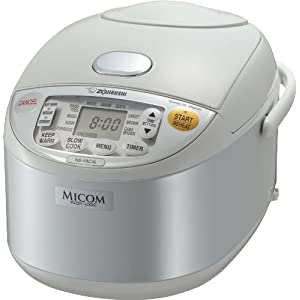 Zojirushi NS-YAC10 Umami Micom Rice Cooker and Warmer