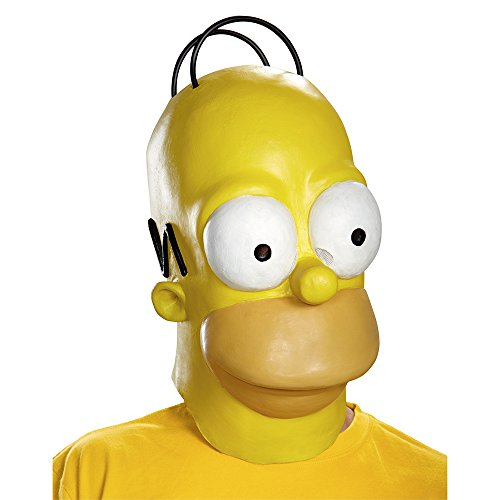 Disguise Men's Homer Adult Costume Mask