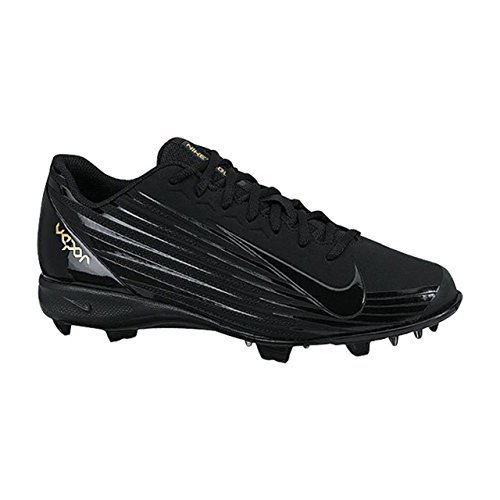 pictures of Nike Vapor Strike J Baseball Cleats Black 8 US