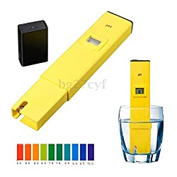 Digital LCD PH Meter TDS EC Water Purity PPM Filter Hydroponic Pool Tester Pen (PH Meter only)