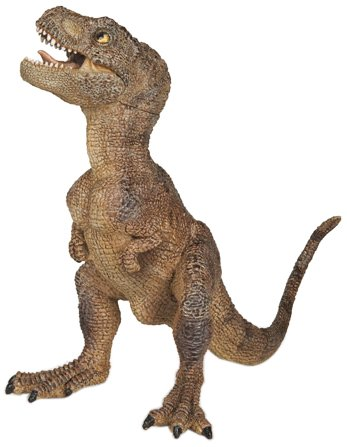 Papo Brown Baby T-Rex Toy Figure