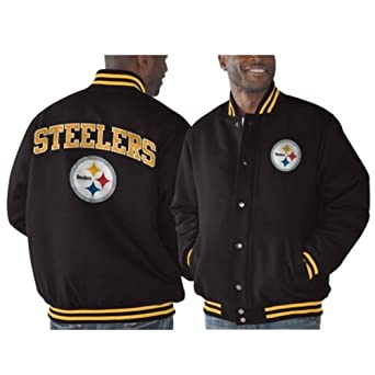 Pittsburgh Steelers G-III Playoff Button-Up Jacket by G-III Sports