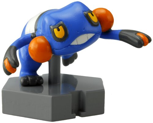 "Croagunk (P8): Pokemon Moncolle (Monster Collection) 1"" to 2"" Collectible Mini Action Figure (Japanese Imported)"