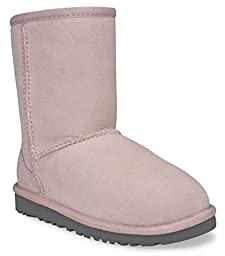 UGG Australia Infants\' Classic Toddler Suede Boots,Baby Pink,US 10 Child US