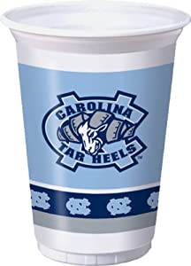 Buy Creative Converting North Carolina Tar Heels Printed Plastic 20 oz. Cups (8 Count) by Creative Converting