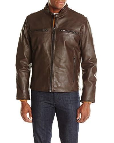 Marc New York Men's Lamar 26 Leather Moto Jacket