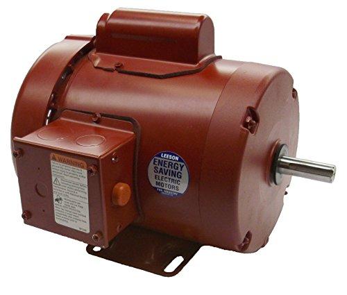 3/4 Hp 1725Rpm 56 Frame Tefc (Farm Duty) 115/208-230 Volts Leeson Electric Motor # 110087