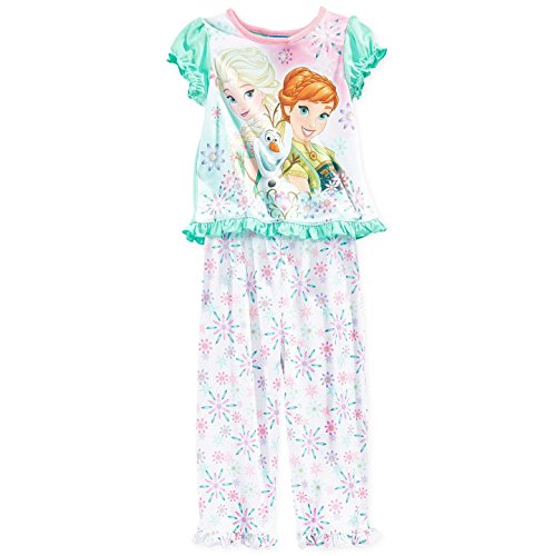 Little Girls Frozen Top and Pants Pajamas 2T