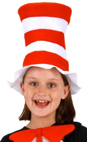 Dr. Seuss Kid's Cat in the Hat Felt Hat by elope