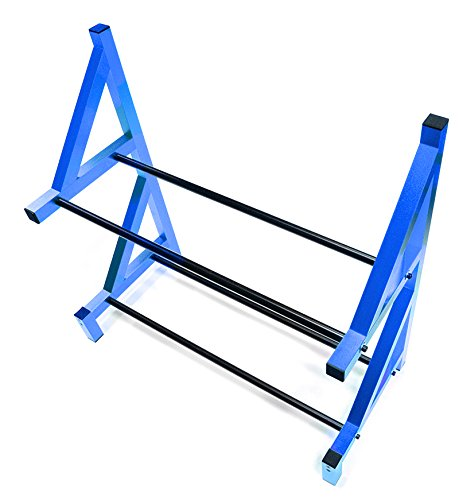 Integy RC Hobby C26750BLUE Wheel & Tire Storage Rack 19x8x17.5 Inch for 1/8 & 1/5 Scale (Rc Car Tire Tool compare prices)