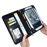 TrendyDigital NookGear (TM) Folio Case for Barnes & Noble Nook eReader, Black ~ TrendyDigital