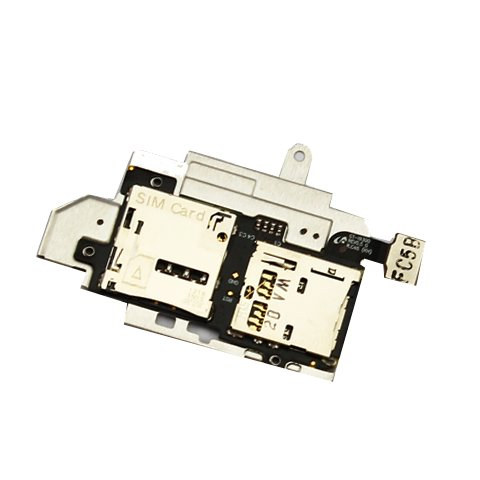 Samsung Ersatzteil Steckplatz für SIM- und Micro-SD-Karte, für Samsung Galaxy S3 i9300, Originalteil