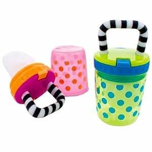 Sassy Polka Dots Teething Feeder Assorted Colors